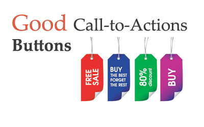 Attractive call to action button