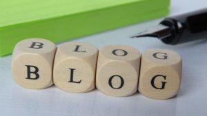start a blog for online business