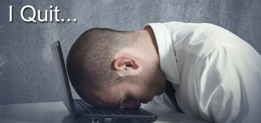 most bloggers quit blogging
