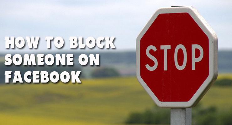 how do i block someone on fb