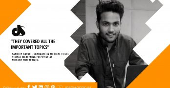 Sandeep Raturi DSDM.in Review